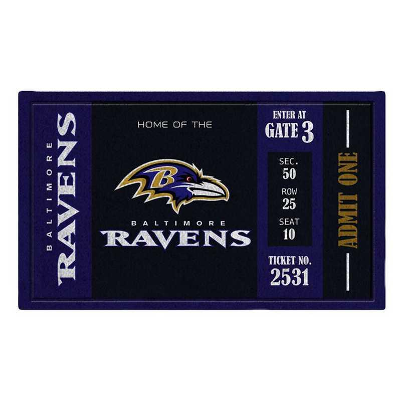 41LM3802: EG Turf Mat, Baltimore Ravens