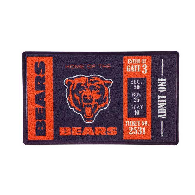 41LM3805: EG Turf Mat, Chicago Bears