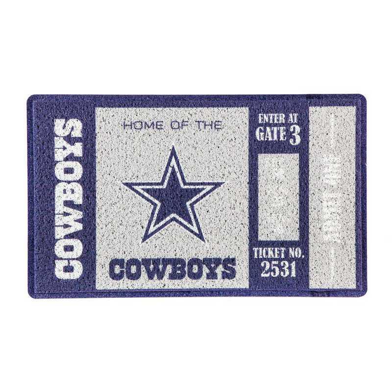 41LM3808: EG Turf Mat, Dallas Cowboys