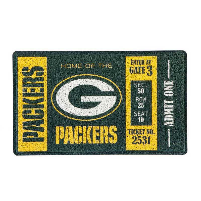 41LM3811: EG Turf Mat, Green Bay Packers
