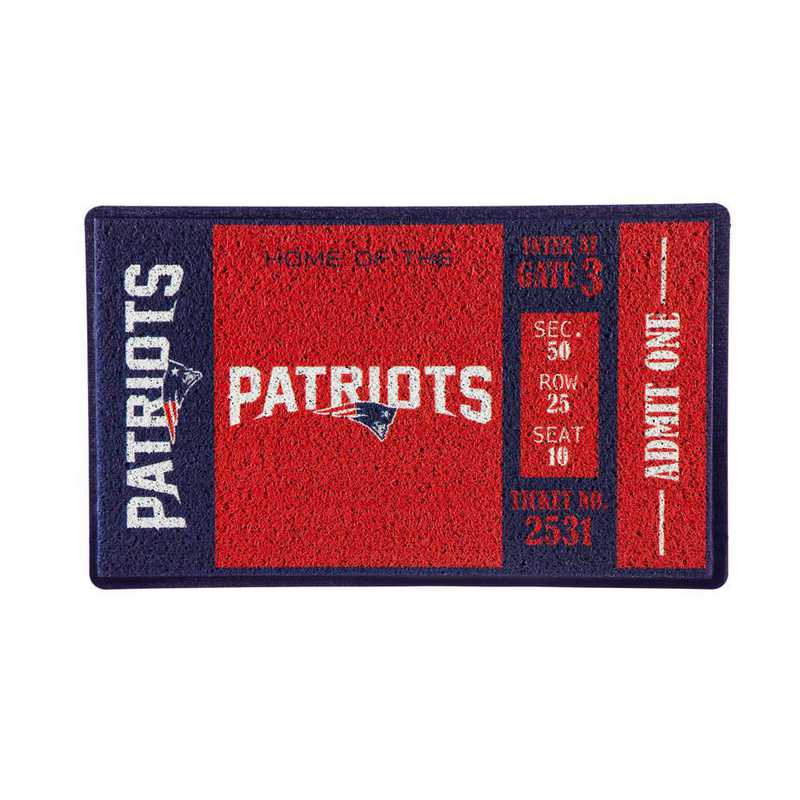 41LM3818: EG Turf Mat, New England Patriots