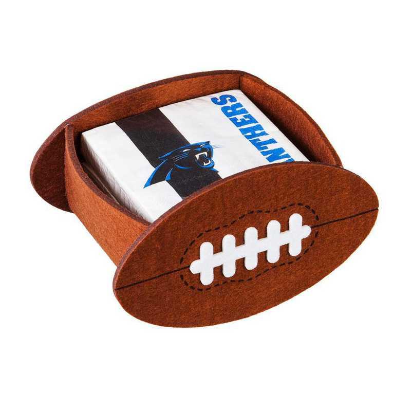 P10443804: EG Carolina Panthers, Napkin Felt Gift Set