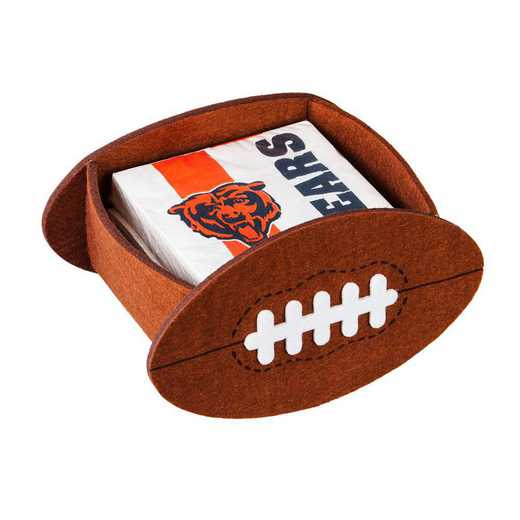 P10443805: EG Chicago Bears, Napkin Felt Gift Set