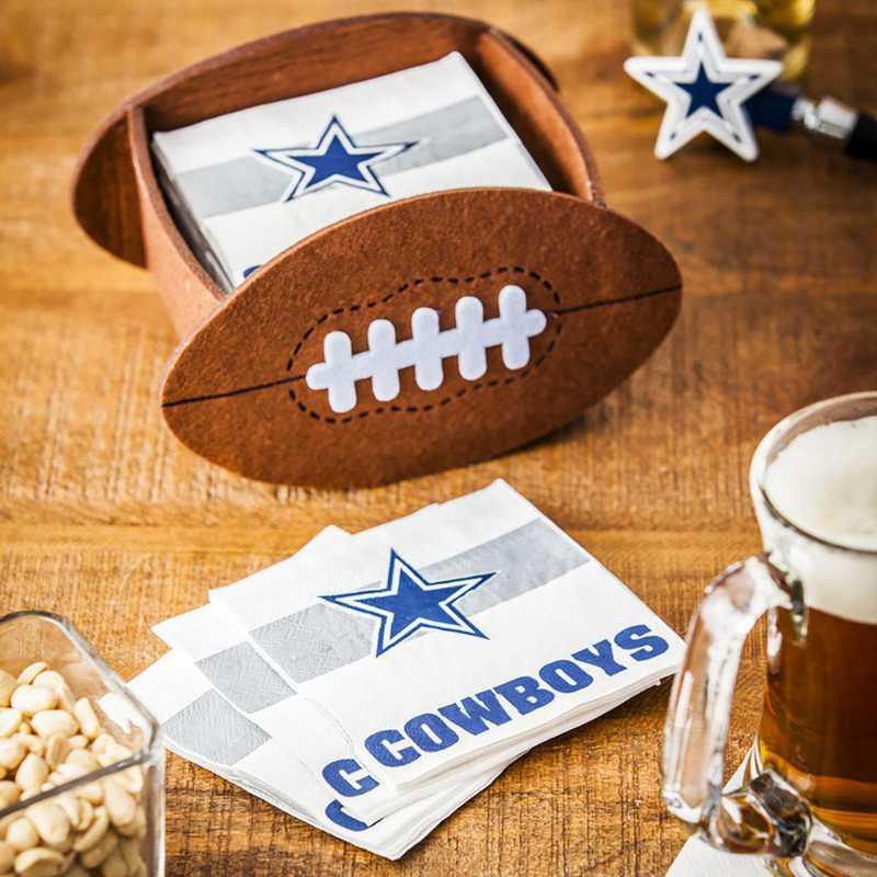 P10443808: EG Dallas Cowboys, Napkin Felt Gift Set