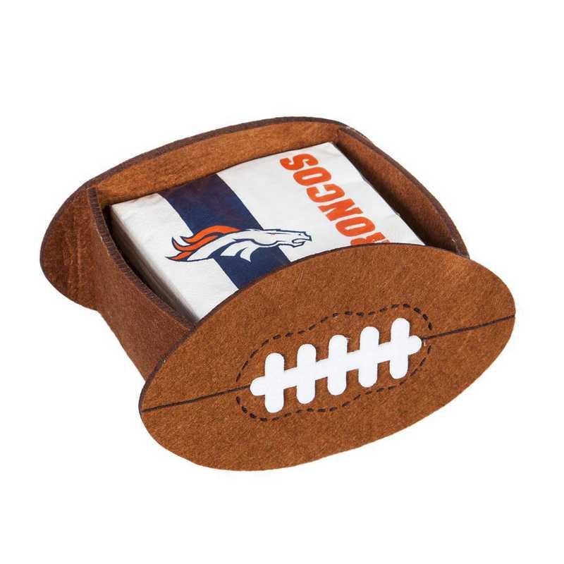 P10443809: EG Denver Broncos, Napkin Felt Gift Set