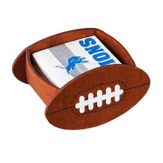 P10443810: EG Detroit Lions, Napkin Felt Gift Set