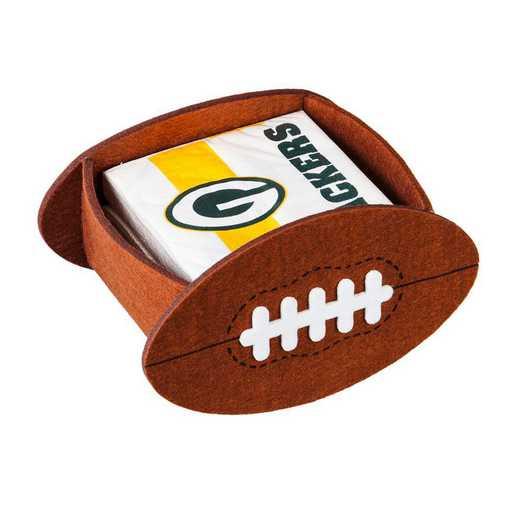 P10443811: EG Green Bay Packers, Napkin Felt Gift Set