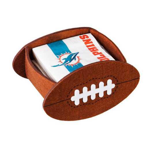 P10443816: EG Miami Dolphins, Napkin Felt Gift Set