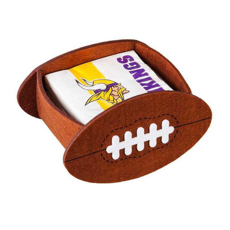 P10443817: EG Minnesota Vikings, Napkin Felt Gift Set
