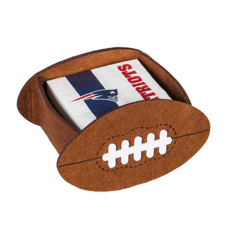 P10443818: EG New England Patriots, Napkin Felt Gift Set