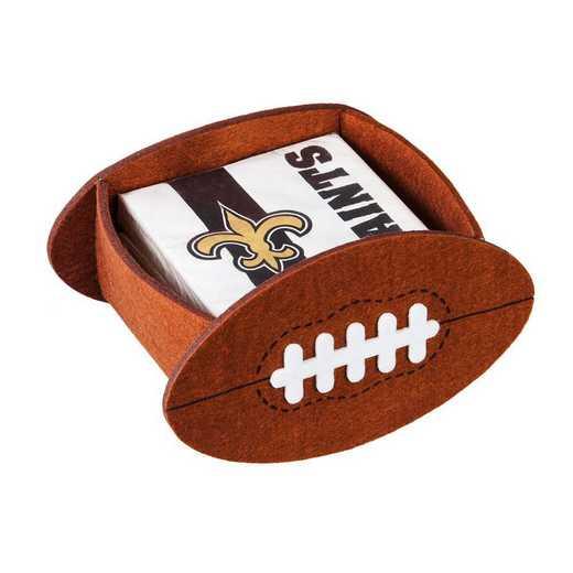 P10443819: EG New Orleans Saints, Napkin Felt Gift Set