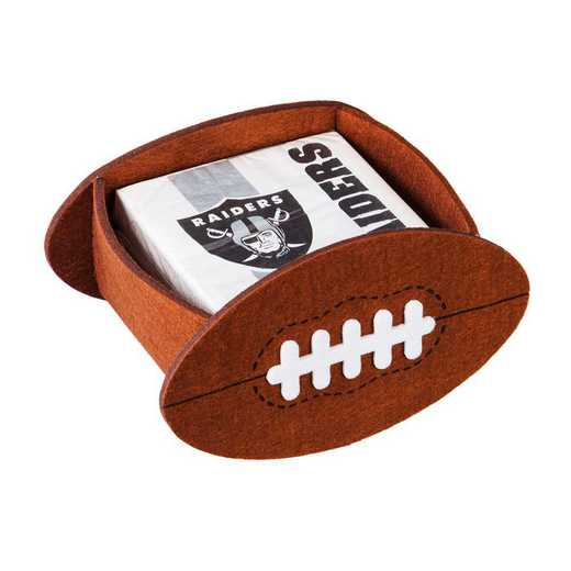 P10443822: EG Oakland Raiders, Napkin Felt Gift Set