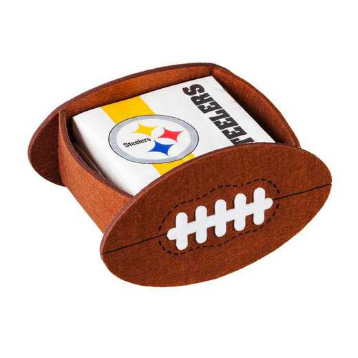 P10443824: EG Pittsburgh Steelers, Napkin Felt Gift Set