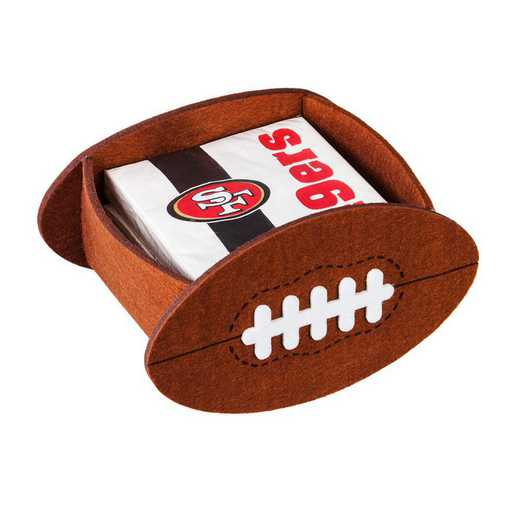 P10443826: EG San Francisco 49ers, Napkin Felt Gift Set