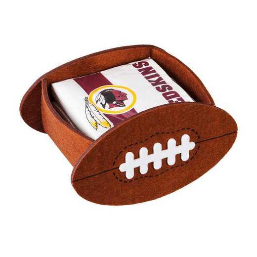P10443831: EG Washington Redskins, Napkin Felt Gift Set