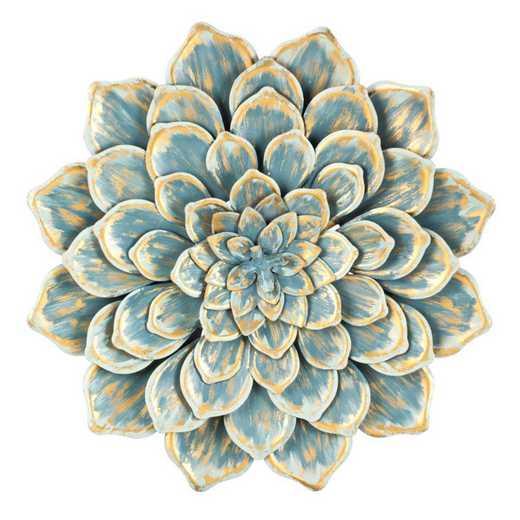 6AWD038: EG Multiple Layer Metal Wall Flower