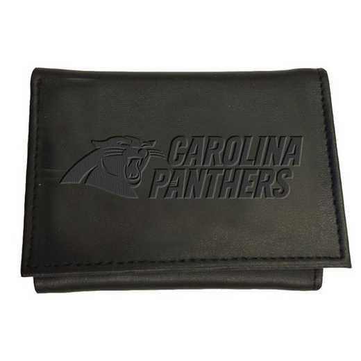 7WLTT3804: EG Tri-fold Wallet Carolina Panthers
