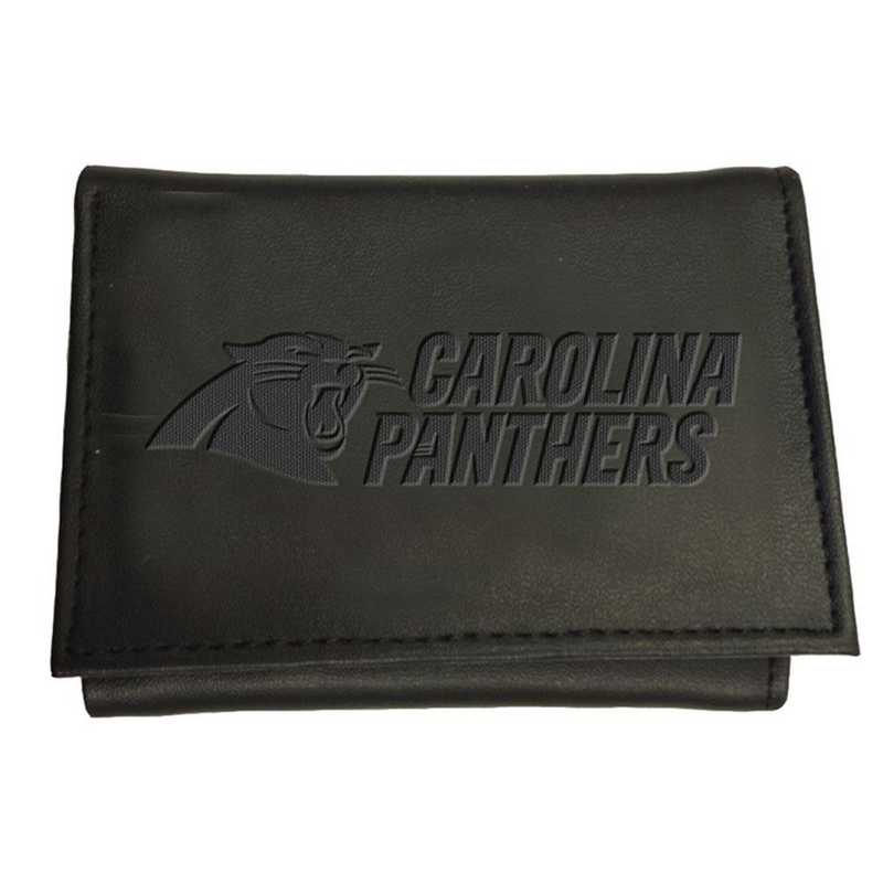 7WLTT3804: EG Tri-fold Wallet Carolina Panthers