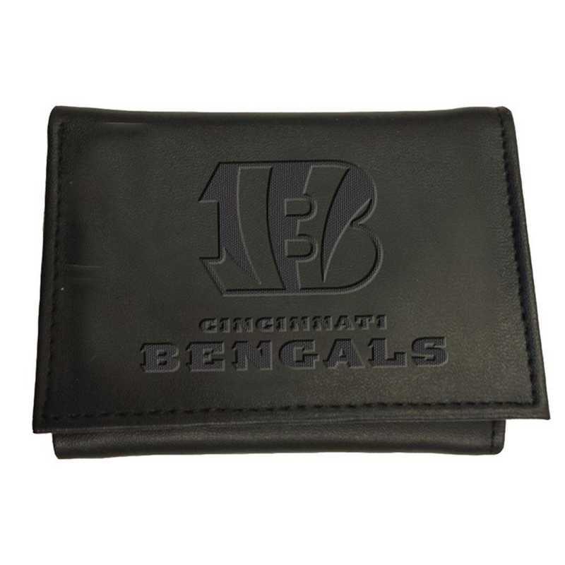 7WLTT3806: EG Tri-fold Wallet Cincinnati Bengals