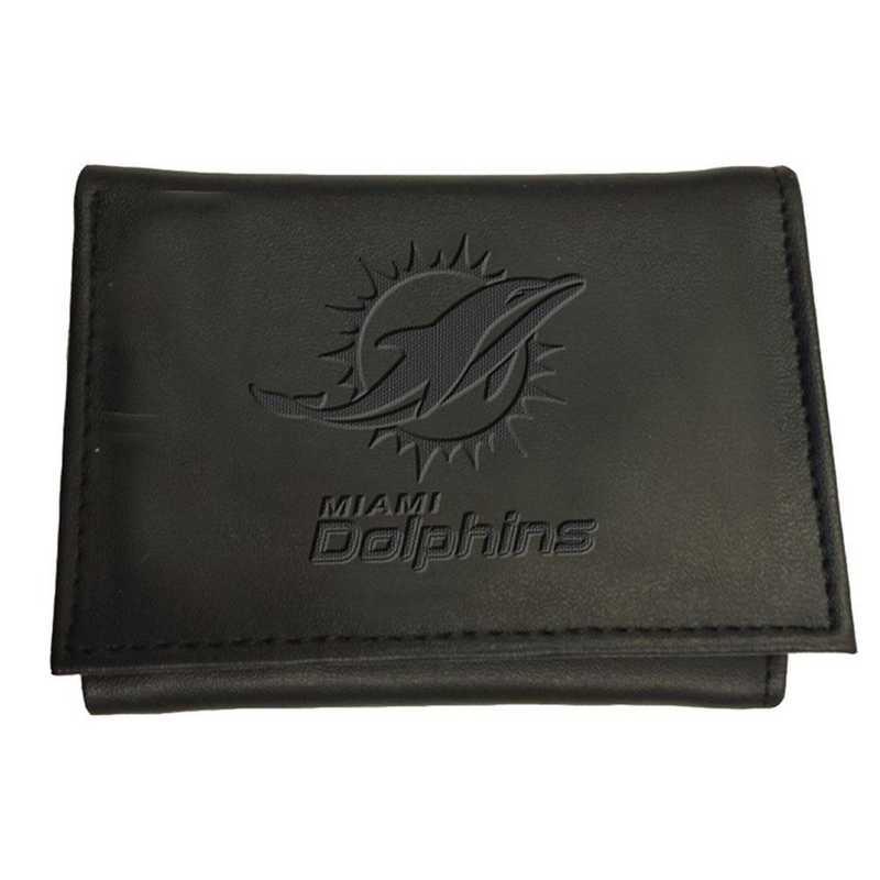 7WLTT3816: EG Tri-fold Wallet Miami Dolphins