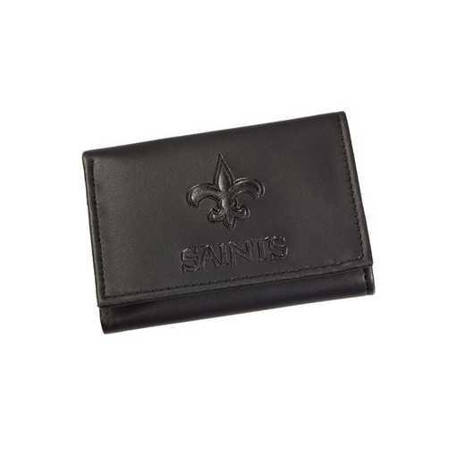 7WLTT3819: EG Tri-fold Wallet New Orleans Saints