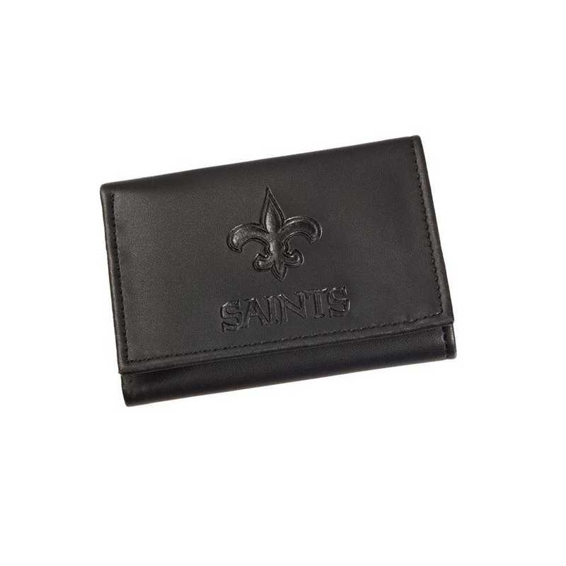 7WLTT3819: EG Tri-fold Wallet New Orleans Saints