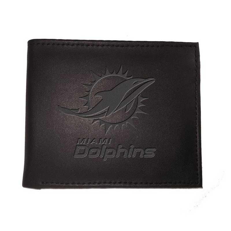 7WLTB3816: EG Bi-fold Wallet Miami Dolphins