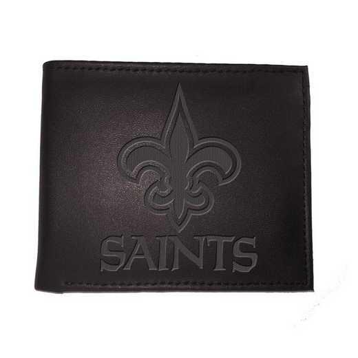 7WLTB3819: EG Bi-fold Wallet New Orleans Saints