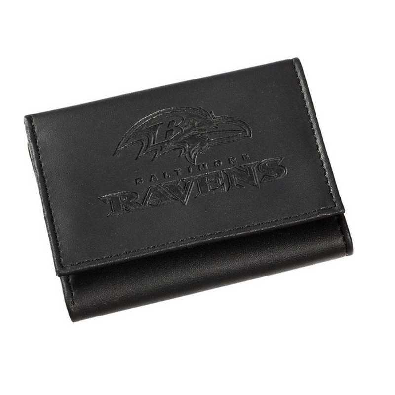 7WLTT3802: EG Tri-fold Wallet Baltimore Ravens