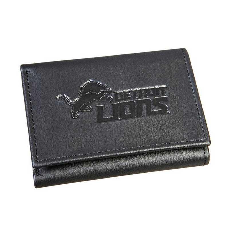 7WLTT3810B: EG Tri-fold Wallet Detroit Lions