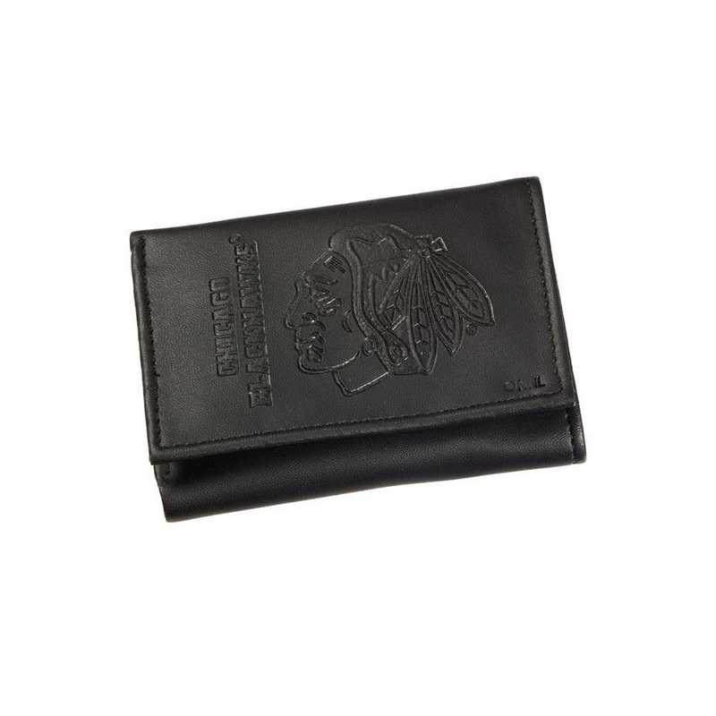 7WLTT4355: EG Tri-fold Wallet, Chicago Blackhawks