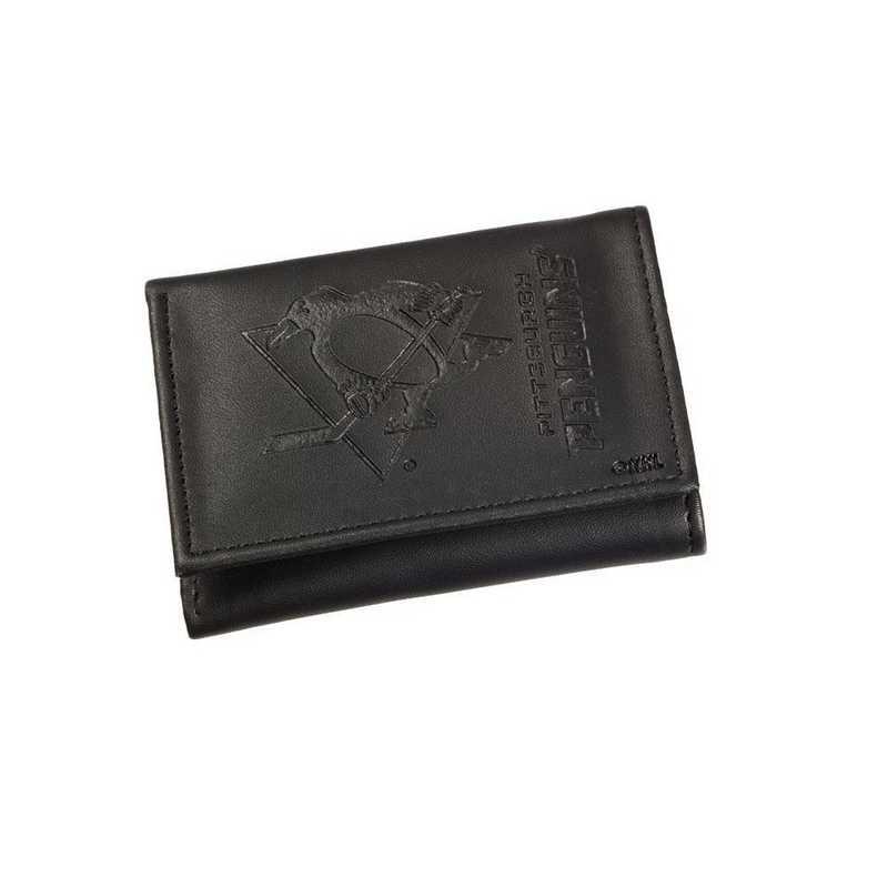 7WLTT4372: EG Tri-fold Wallet, Pittsburgh Penguins