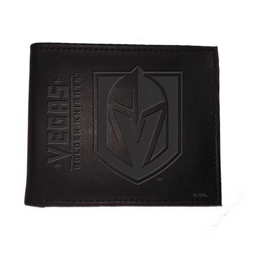 7WLTB4380: EG Bi-Fold Wallet, Vegas Golden Knights