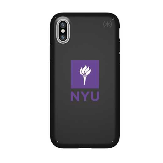 IPH-X-BK-PRE-NYU-D101: FB NYU iPhone X Presidio
