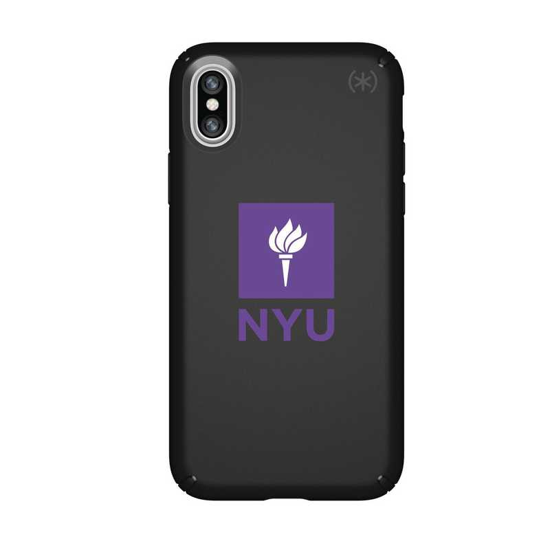 IPH-X-BK-PRE-NYU-D101: FB NYU iPhone X Presidio