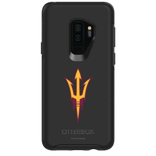 GAL-S9P-BK-SYM-ARS-D101: FB Arizona St OB SYMMETRY Case for Galaxy S9+
