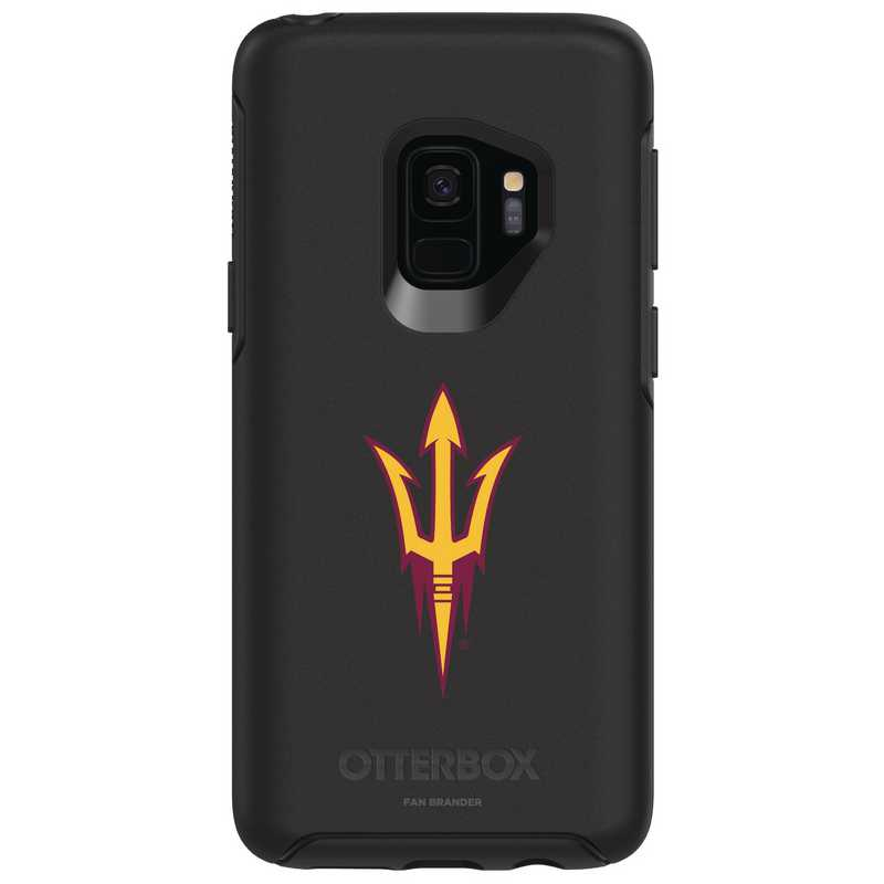 GAL-S9-BK-SYM-ARS-D101: FB Arizona St OB SYMMETRY Case for Galaxy S9