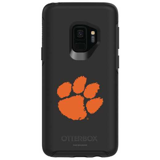 GAL-S9-BK-SYM-CL-D101: FB Clemson OB SYMMETRY Case for Galaxy S9