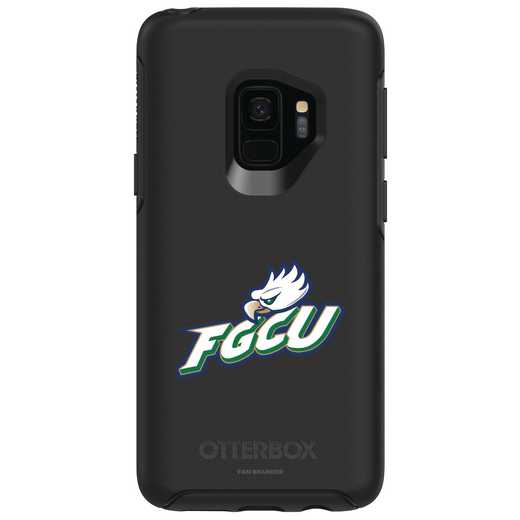 GAL-S9-BK-SYM-FGCU-D101: FB Florida Gulf Coast OB SYMMETRY Case for Galaxy S9