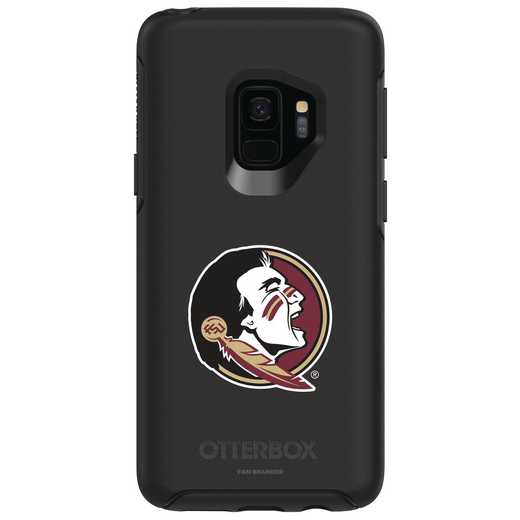 GAL-S9-BK-SYM-FSU-D101: FB Florida St OB SYMMETRY Case for Galaxy S9