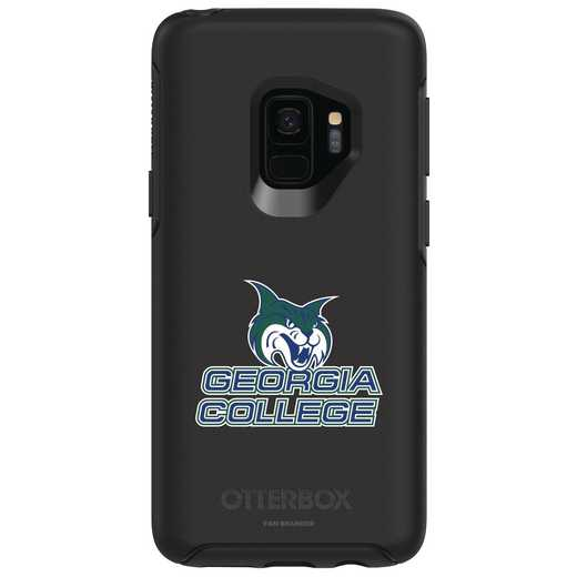 GAL-S9-BK-SYM-GCS-D101: FB Georgia St OB SYMMETRY Case for Galaxy S9