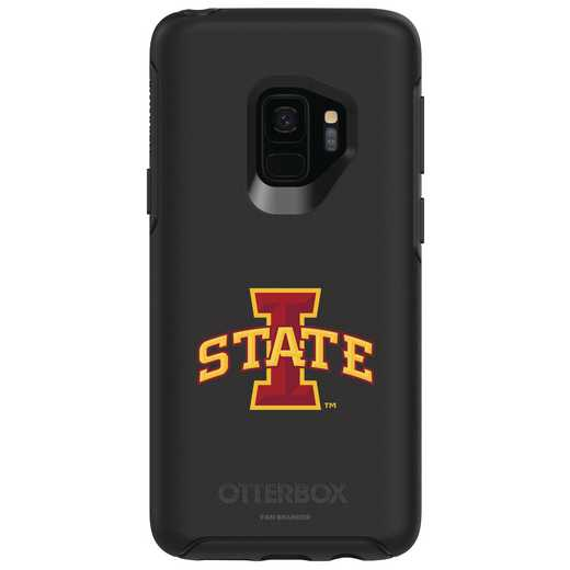 GAL-S9-BK-SYM-IAS-D101: FB Iowa St OB SYMMETRY Case for Galaxy S9
