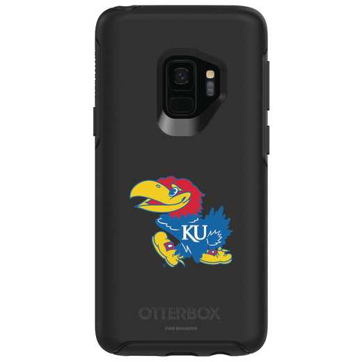 GAL-S9-BK-SYM-KS-D101: FB Kansas OB SYMMETRY Case for Galaxy S9