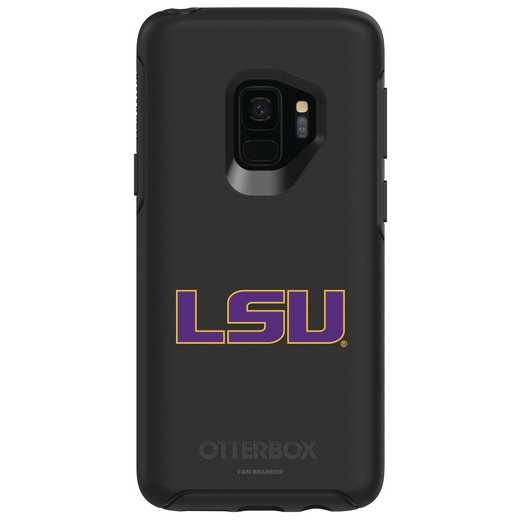 GAL-S9-BK-SYM-LSU-D101: FB LSU OB SYMMETRY Case for Galaxy S9