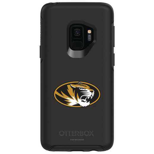 GAL-S9-BK-SYM-MIS-D101: FB Missouri OB SYMMETRY Case for Galaxy S9