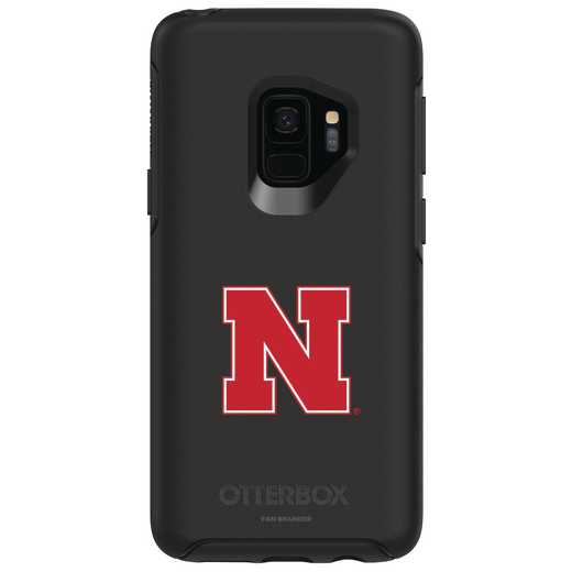 GAL-S9-BK-SYM-NB-D101: FB Nebraska OB SYMMETRY Case for Galaxy S9