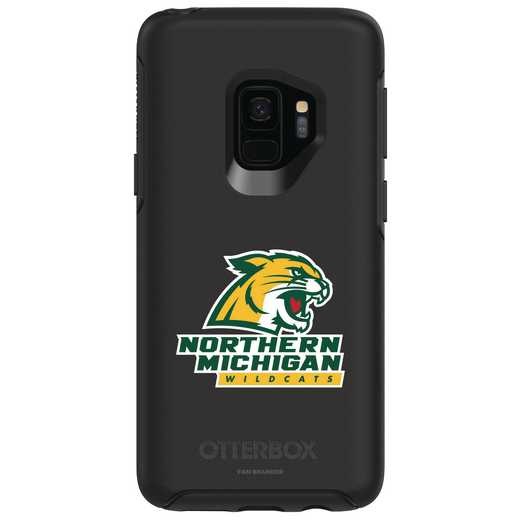 GAL-S9-BK-SYM-NOMU-D101: FB Northern Michigan OB SYMMETRY Case for Galaxy S9