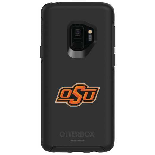 GAL-S9-BK-SYM-OKS-D101: FB Oklahoma St OB SYMMETRY Case for Galaxy S9