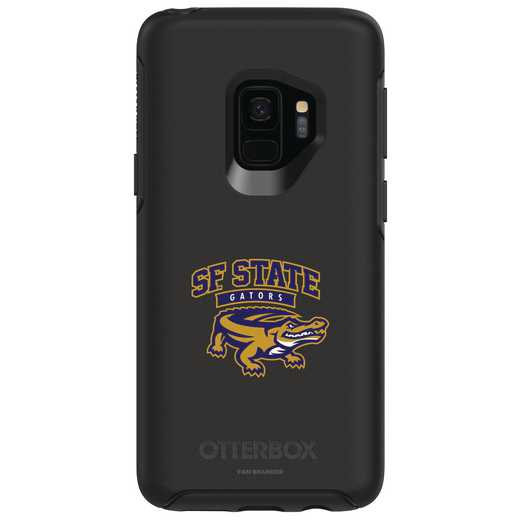 GAL-S9-BK-SYM-SFSU-D101: FB San Francisco St OB SYMMETRY Case for Galaxy S9