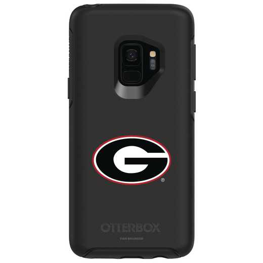 GAL-S9-BK-SYM-UGA-D101: FB Georgia OB SYMMETRY Case for Galaxy S9